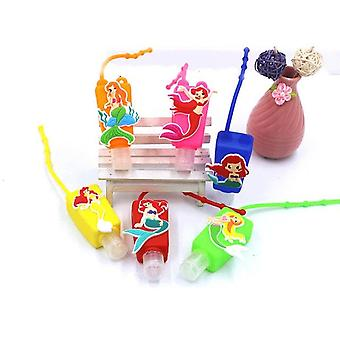 Cute Silicone Mini Portable Hand Sanitizer Gel Holder For Kids - Travel Portable Sanitizer Gel Containers