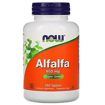 Maintenant Aliments, Luzerne, 650 mg, 250 comprimés