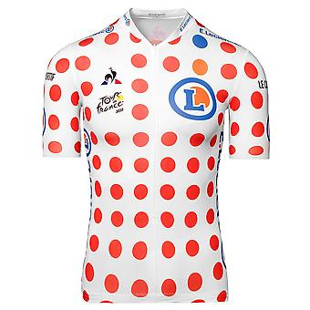 Tour de France Le Coq Sportif Men's Replica King of the Mountains Jersey | Polka | 2020