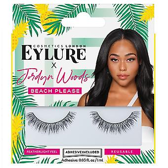 Eylure x Jordyn Woods Valse Wimpers - Beach Please - Lash Lijm inbegrepen