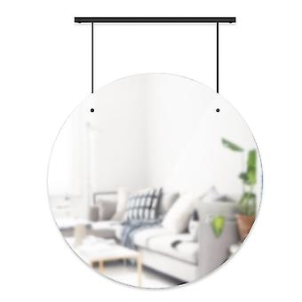 "Umbra Exhibit Wall Mirror 24"" - Zwart"