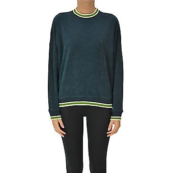 Soeur Ezgl563007 Women's Blue Cotton Sweatshirt