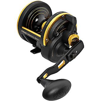 Penn Squall Conventional Lever Drag Fishing Reel - SQL40LDLH - L. Hand Retrieve