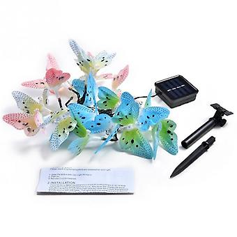 Butterfly Fiber Optic Fairy Led, Outdoor Garden Lights