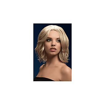 Smiffy's Fever Olivia Wig - Dark Blonde