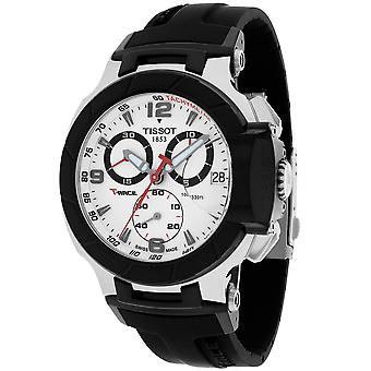 Tissot Hombres's T-Race Reloj de marcación blanca - T0484172703700