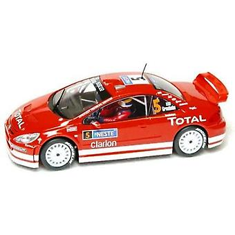 Scalextric C2560A Car Peugeot 307 WRC Rally Car