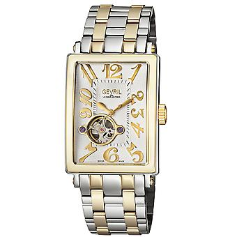 Gevril Men's 5073B Avenue of Americas Intravedre Automatic Two-Tone Steel Watch
