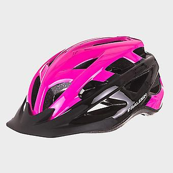 New Raleigh Men's Quest Cycling Helmet Pink/Black