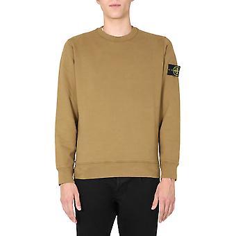 Stone Island 731563020v0071 Men's Beige Cotton Sweatshirt