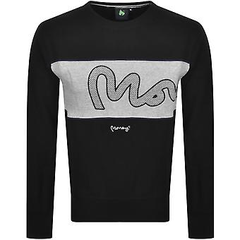 Money Sig Panel Sweatshirt Black 26