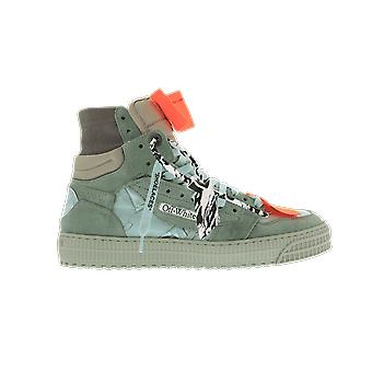 OFF WHITE Off Court Sneaker Green OMIA065F20LEA0015102 shoe