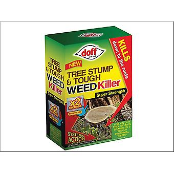 Doff Baum Stump & Tough Weedkiller 2 x Beutel