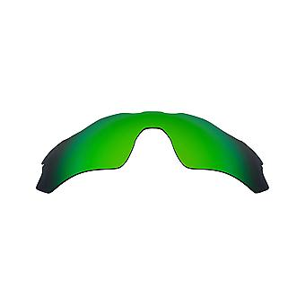Replacement Lenses for Oakley Radar EV Path Sunglasses Anti-Scratch Green Mirror