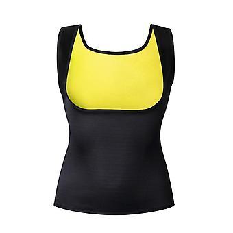 Sport Fitness Vest Hot Exercise Shapers Topper Trening Svette Ermeløs Skjorte