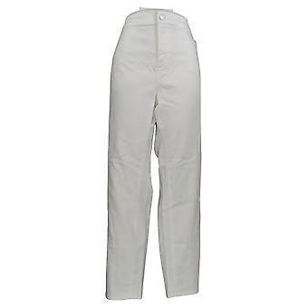 Vince Camuto Women's Plus Jeans Denim 5-Pocket Enkel wit A353311
