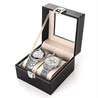 Pu Leather Watch Case, Holder, Organizer, Storage Box