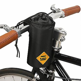 Bike Handlebar Touring Commuting Insulated Pouch for Food Snack Storage Water Bottle Packing