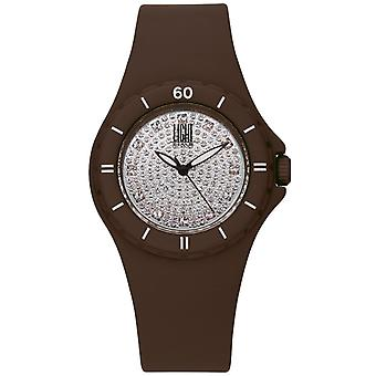 Light time watch silicon strass l122ma