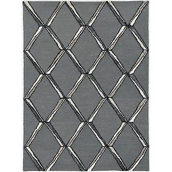 LLU 4308 8'X 10' / Tappeto carbone/argento