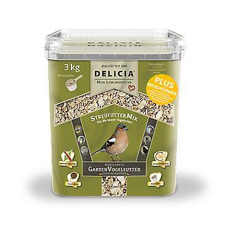 FRUNOL DELICIA® Delicia® Doublure à litièreMix plus vers de farine, 3 kg