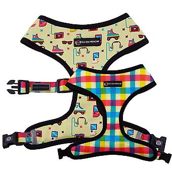 Oui Oui Frenchie Reversible Harness - 80s