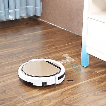 Robô aspirador de pó aspirado molha cabelo de estimação e piso duro automático