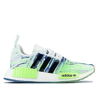 Boy's adidas Originals Junior NMD R1 Trainers in Green