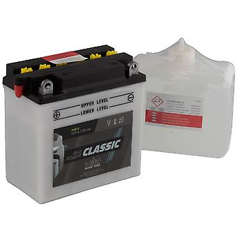 intAct CB7-A / 12N7-4A Classic Bike-Power Battery With Acid Pack