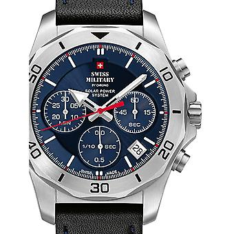 Mens Watch Swiss Military By Chrono SMS34072.05, Cuarzo, 44mm, 10ATM