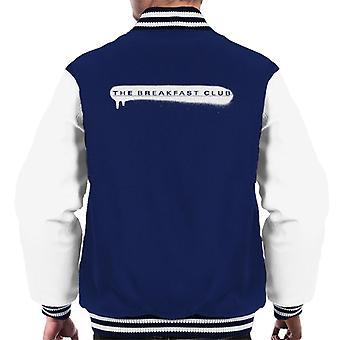 Frukost club sprayfärg Logo Män's Varsity Jacket