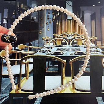 22 Styles Simulation Pearl Hårbånd koreanske håndlavede Bow Flower Hoops Bryllup
