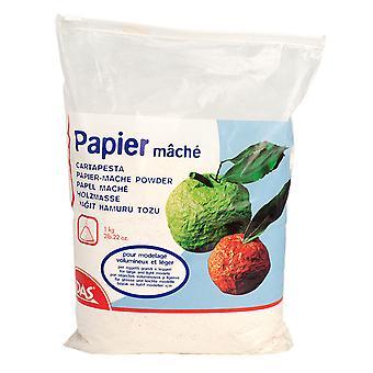 DAS 686000 Powdered Cellulose Papier Mache Powder 1kg