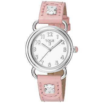 Tous watches baby bear watch for Women Analog Quartz with Cowhide Bracelet 500350180