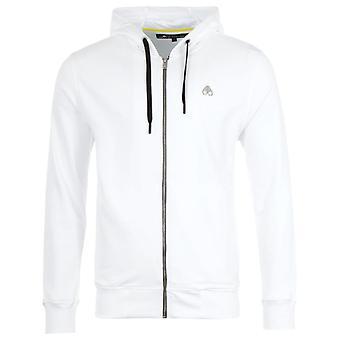 Moose Knuckles Magnapop Zip Hooded Sweatshirt - White