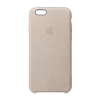 Alkuperäinen Apple Leather Case iPhone 6s Plus, iPhone 6 Plus - Rose Gray