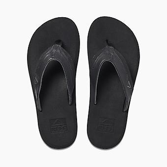 Reef Mens Sandaler ~ Kudde Gryning svart