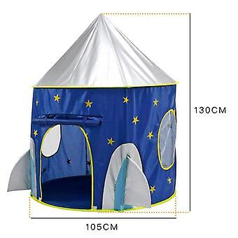 طفل نفق سفينة الفضاء 3 في 1 خيمة البيت اللعب