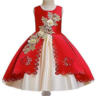 Κεντήματα Μεταξωτό Φόρεμα Πριγκίπισσα