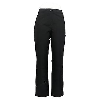 Susan Graver Kvinder 's Petite Pants Weekend Premium Stretch Sort A387781