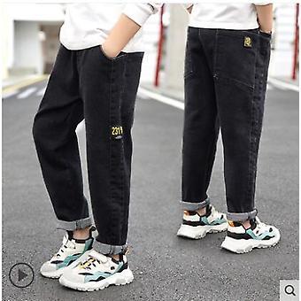 2021 Wiosenne dżinsy, solidne cienkie dżinsy