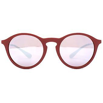 Ray-Ban Bordeaux Gunmetal rosa/argento lenti occhiali da sole RB4243-6264B5-49