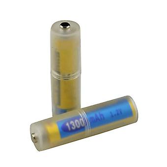 4pcs Aaa To Aa Size Battery Converter Adapter Batteries Holder Durable Case