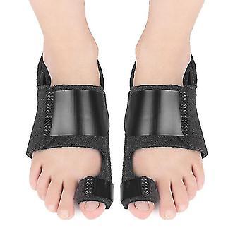1Pair toe straightener corrector brace pad for hallux valgus correction pain relief bunion splint guard toe separator supports