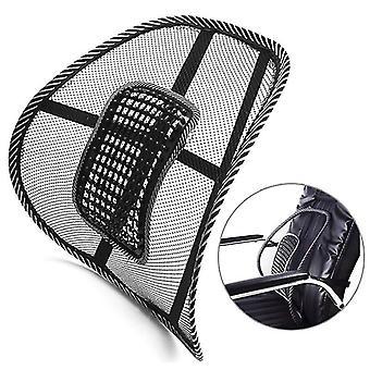 Samochód ciężarowy biuro domu poduszka siedzenia krzesło lędźwiowe oparcie wsparcie masaż poduszka siatkowa ulga lędźwiowa klamra tylna krzesło