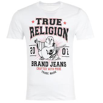 True Religion Buddha Star Logo T-Shirt - White