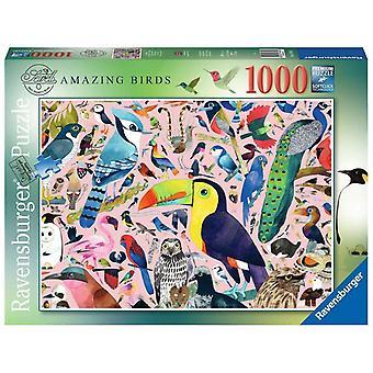 Ravensburger Legpuzzel Matt Sewell's Amazing Birds 1000 stukjes