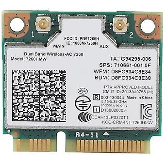 FengChun Universal 2.4G + 5G Dualband-Funkkarte für Intel 7260AC 867 Mbps Bluetooth
