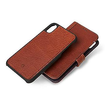 Full-grain leather iPhone X/XS wallet case