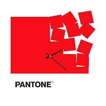 PANTONE Montre Fly Away Couleur Rouge, Blanc, Noir, en Métal L40xP0,15xA40 cm